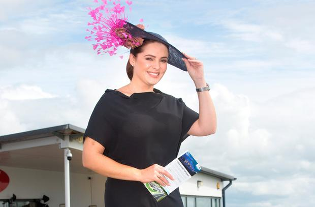 Grainne Seoige at the Galway Races. Picture: Tony Gavin