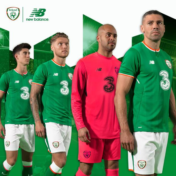 1e767905ac1 Revealed  First picture of Ireland s first ever New Balance jersey ...