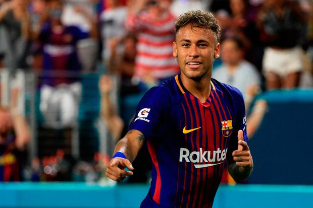 Neymar has left Barcelona for Paris St Germain in a five-year €222m deal. Photo by Mike Ehrmann/Getty Images