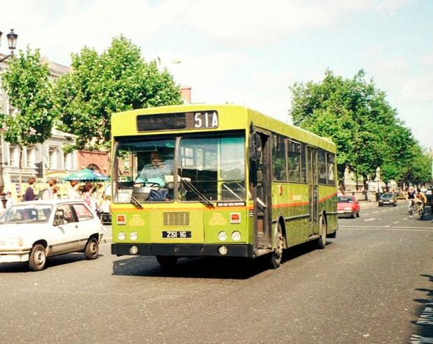 Dublin buses down the years