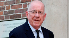 Justice Minister Charlie Flanagan revealed gardaí in Dublin have seized nearly 1,900 knives since the beginning of 2015. Photo: Tom Burke