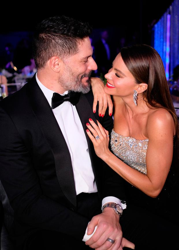 Actors Joe Manganiello and Sofia Vergara attend The 23rd Annual Screen Actors Guild Awards at The Shrine Auditorium on January 29, 2017 in Los Angeles, California. 26592_009 (Photo by Dimitrios Kambouris/Getty Images for TNT)