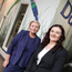 Minister Frances Fitzgerald and Datapac's Karen O'Connor