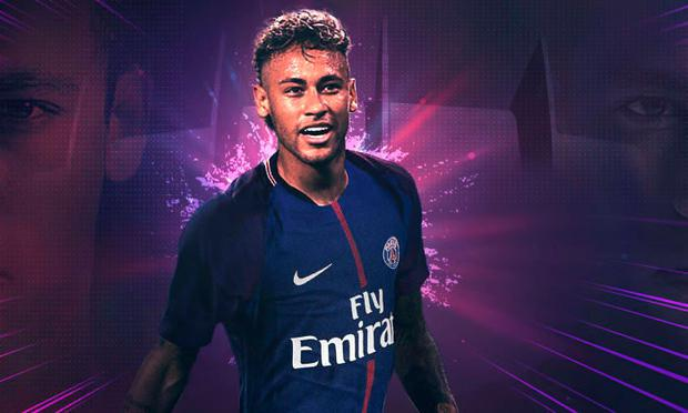 Neymar was confirmed as PSG's new signing