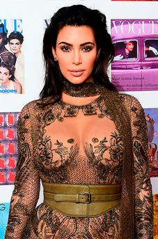 Social media star Kim Kardashian has spoken out against cyberbullying. Picture: PA