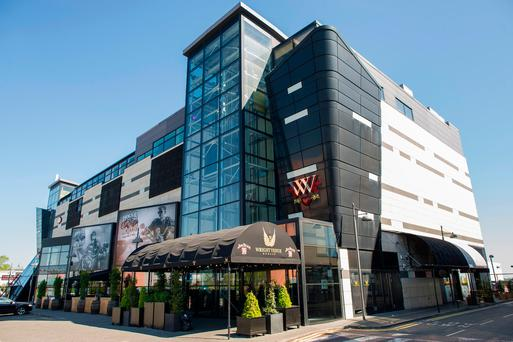 The Wright Venue in Swords where the alleged rape of a teenager took place
