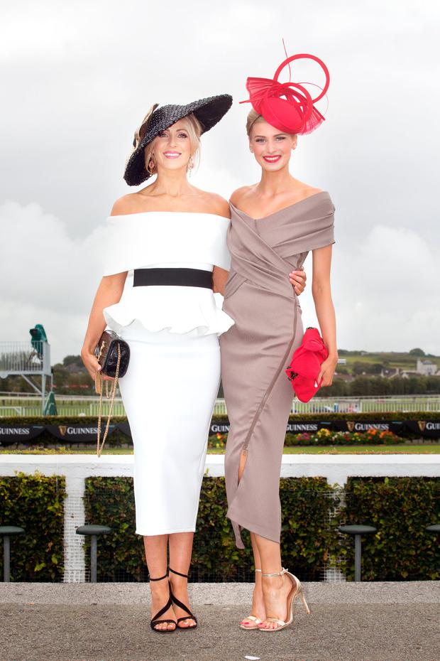 Mary Lee and Katy Geoghegan from Galway