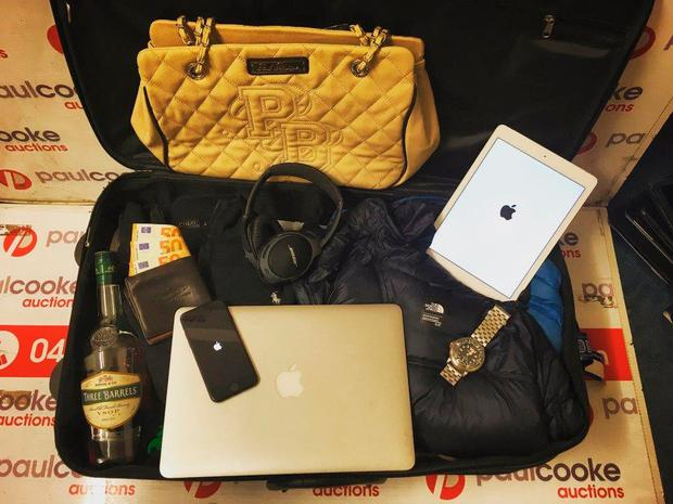 iPhones, designer handbags and dirty laundry were just some of the items up for grabs at Ireland's first ever lost luggage sale