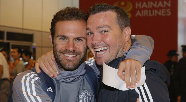 Juan Mata will donate one per cent of his salary to a charity supporting global football initiatives. CREDIT: GETTY IMAGES