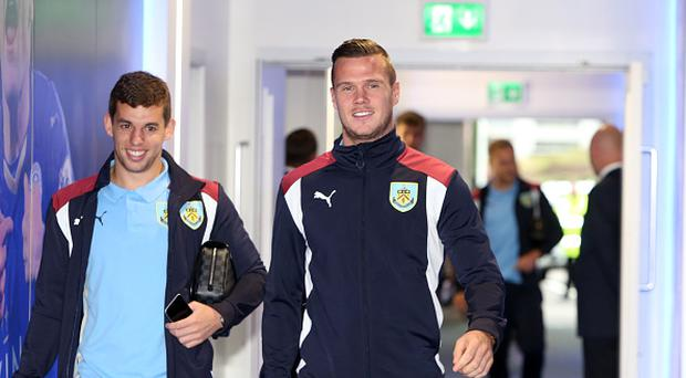 Kevin Long of Burnley arrives for the Premier League match between Leicester City and Burnley at the King Power Stadium on September 17th , 2016 in Leicester, United Kingdom. (Photo by Plumb Images/Leicester City FC via Getty Images)