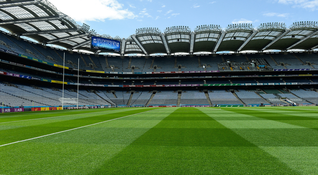 A general view of Croke Park before the GAA Football All-Ireland Senior Championship Round 4B match between Down and Monaghan at Croke Park in Dublin. Photo by Piaras Ó Mídheach/Sportsfile
