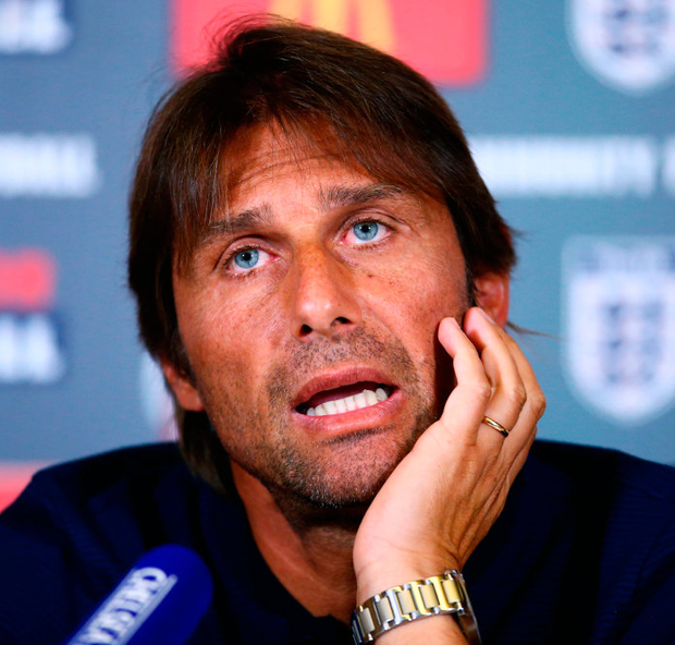 Antonio Conte has laughed off claims from Diego Costa's lawyer. Photo: Getty Images