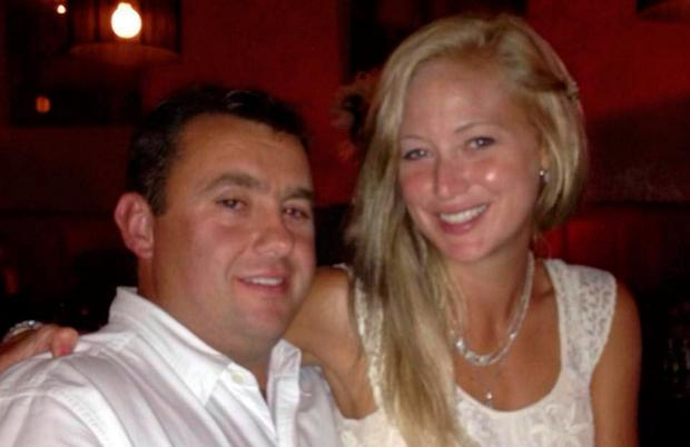 Jason Corbett with his wife Molly, who is charged with his second degree murder