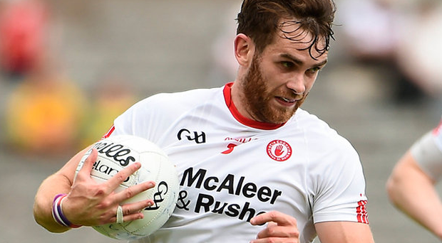 Ronan McNamee feels Tyrone have the talent to be All-Ireland champions. Photo: Sportsfile