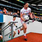 "'Before throw-in I asked a Tyrone man beside me for a look at his programme. ""Take it Joe,"" he said, ""I only got it to see who the ref is. Armagh have no chance.""' Photo: Sportsfile"