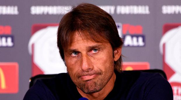 Chelsea manager Antonio Conte unimpressed by the club's transfer business this summer. Photo: Action Images via Reuters