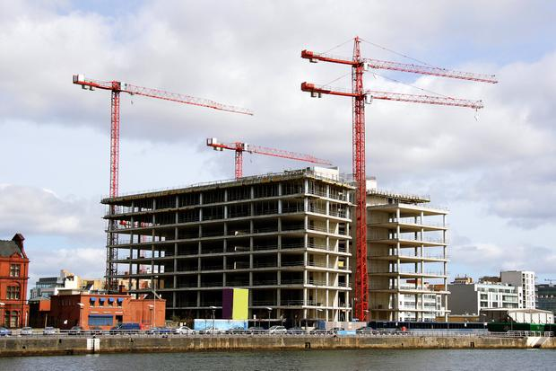 'The volume of planning applications granted permission continues to lag the corresponding period in 2016.' (stock image)