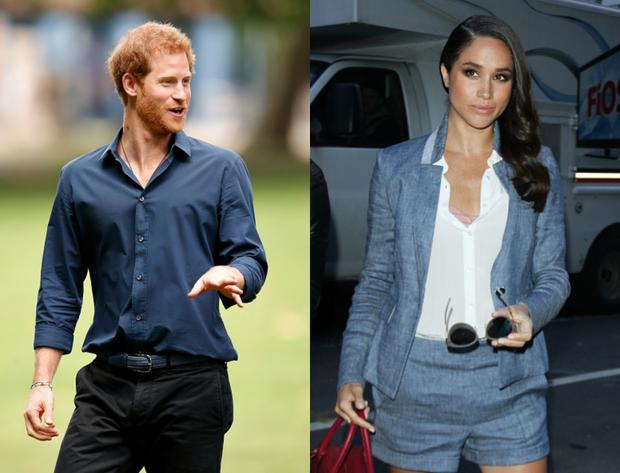 Prince Harry and Meghan Markle. Images: Getty