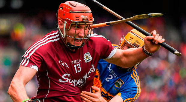 Galway's Conor Whelanis in the box seat to win Young Hurler of the Year. Photo: Sportsfile