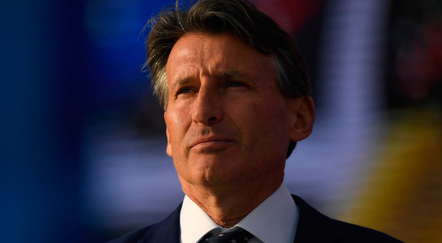 Coe blamed the World Anti-Doping Agency and legal systems worldwide for Gatlin being able to return after two doping violations. Photo by Brendan Moran/Sportsfile