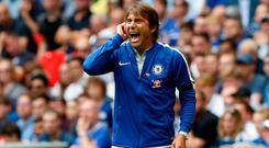 Before kick-off, Conte had described the forthcoming season as offering the biggest challenge of his career. Photo: Getty Images