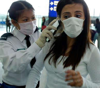 A Sars outbreak led to airports checking the temperature of passengers in 2003. Photo: REUTERS