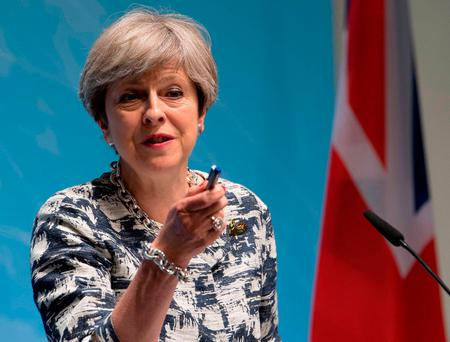 British PM Theresa May 'could provide proposals this week'. Photo: PA
