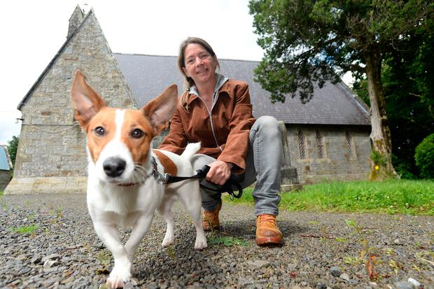 KiltyLive committee member Natasha Pearson with her dog Puca. Photo: Justin Farrelly