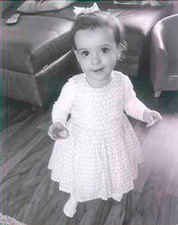 The one-year-old girl who died following an accident involving a car in Merthyr Tydfil, South Wales Credit: Family handout/PA Wire