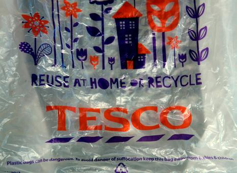 The supermarket is to stop selling single-use plastic bags in its stores, replacing them with