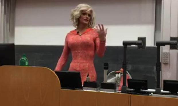 Panti Bliss gives the 2017 Fringe Central Welcome Address