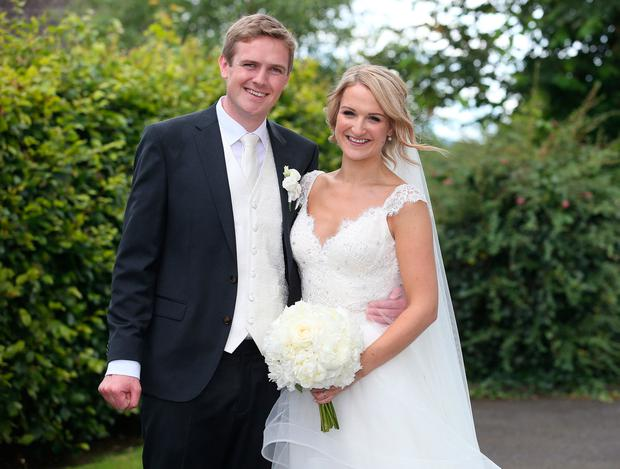 first pictures minister helen mcentee weds long term love in