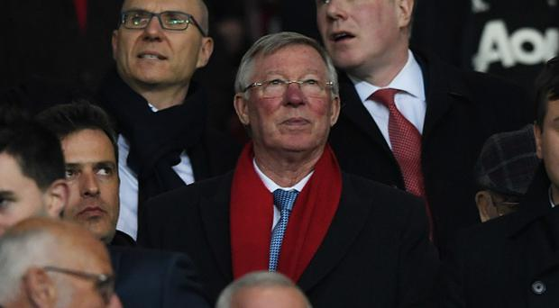 Sir Alex Ferguson the UEFA Europa League Round of 16, second leg match between Manchester United and FK Rostov at Old Trafford on March 16, 2017 in Manchester, United Kingdom. (Photo by Stu Forster/Getty Images)
