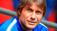 Conte wants two new wing-backs to provide competition for Victor Moses and Marcos Alonso. Photo credit: Nigel French/PA Wire