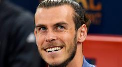 Gareth Bale insists he is happy at Real Madrid. Photo by Shaun Botterill/Getty Images