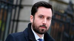 Housing Minister Eoghan Murphy may have thought the latest affirmation of the crisis would go under the radar. Pic Tom Burke