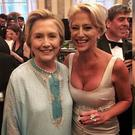 Hillary Clinton and Jennifer Lopez attend New York wedding | Photos via Instagram