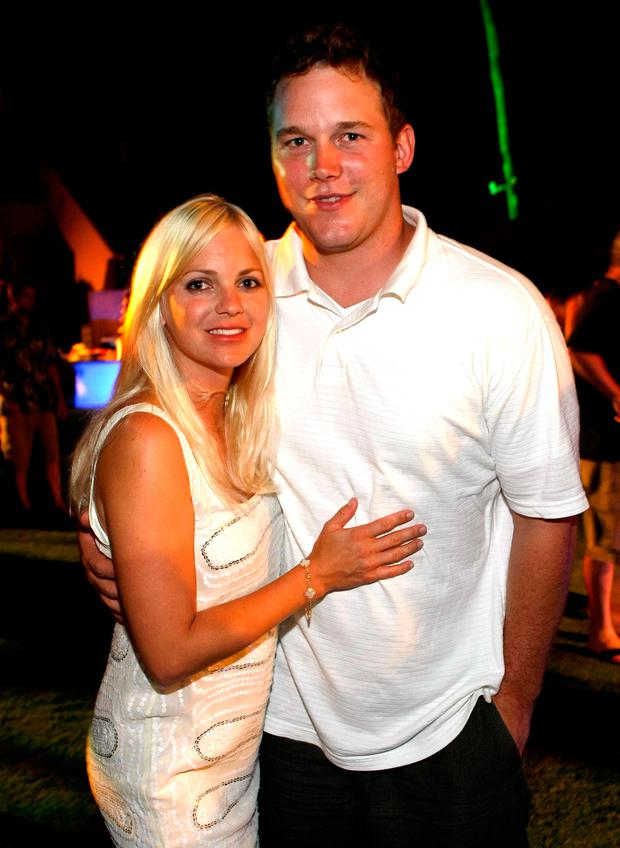 Anna Faris (L) and actor Chris Pratt attend the Taste of Chocolate during the 10th Annual Maui Film Festival at the Four Seasons Hotel on June 19, 2009 in Wailea, Hawaii. (Photo by Michael Buckner/Getty Images)