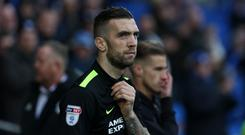 Shane Duffy of Brighton and Hove Albion