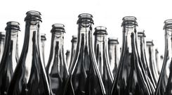 Encirc makes glass bottles and containers for British and Irish food and drinks firms. Stock image