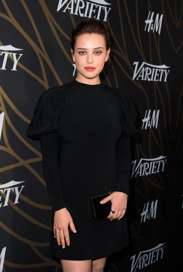 Actress Katherine Langford attends Variety's Power of Young Hollywood Event on August 8, 2017, in Hollywood, California. / AFP PHOTO / VALERIE MACONVALERIE MACON/AFP/Getty Images