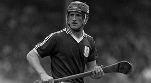 Tony Keady in action for Galway in 1986