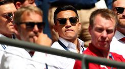 Alexis Sanchez will miss the clash with Leicester with an abdominal strain. Getty