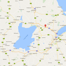 The victim, named locally as James Moore, was discovered on Sunday at his home in Templepatrick. Image: Google Maps