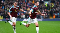 Stephen Ward and Robbie Brady have been joined at Burnley by international teammate Jonathan Walters, but Brighton boss Chris Hughton has warned that Premier League clubs are increasingly reluctant to take a chance on young players from Ireland because they have money to spend on proven talent from around the world. Photo: Getty