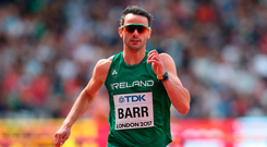 Thomas Barr of Ireland. Photo: Sportsfile