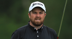 Shane Lowry believes he can compete in the season's final Major if his short game clicks at Quail Hollow. Photo: Getty Images