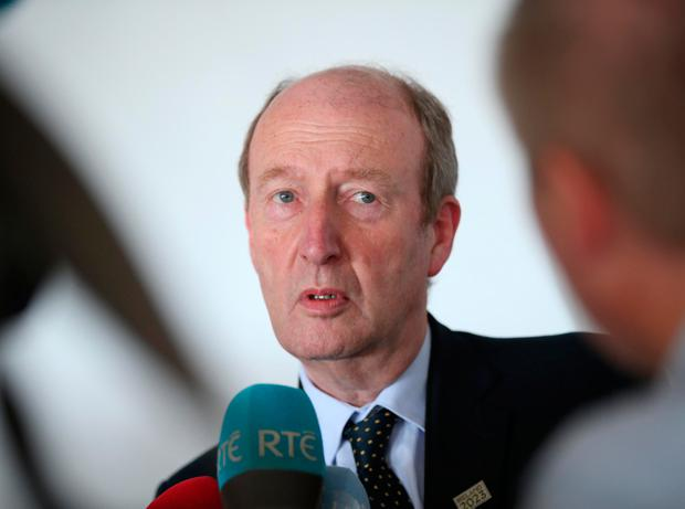 Minister Shane Ross Picture: Robbie Reynolds