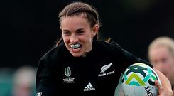 New Zealand's Selica Winiata. Photo: Getty Images