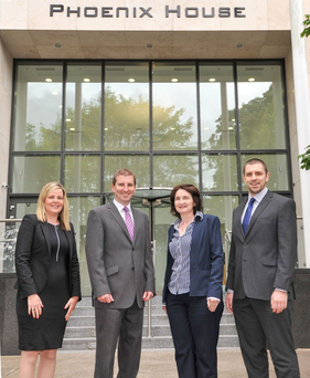 Sweco staff at their office opening in Cork